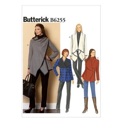 Mantel, Butterick 6255 | 32 - 40