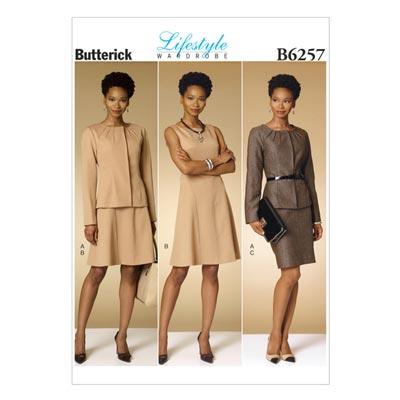 Blazer/Kleid/Rock, Butterick 6257 | 40 - 48