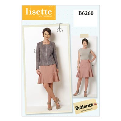 Jacke / Rock, Butterick 6260 | 40 - 48
