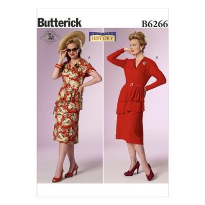 Historisches Kostüm, Butterick 6266 | 40 - 48