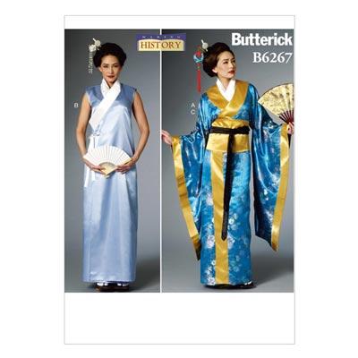 Historisches Kostüm, Butterick 6267 | 32 - 40