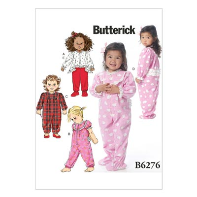 Nachtwäsche, Butterick 6276 | One Size