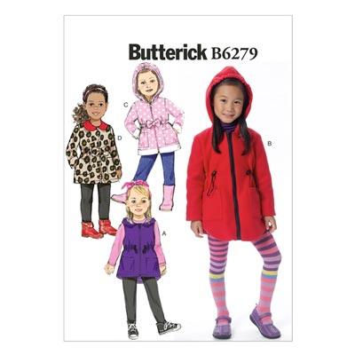 Kinderweste / Jacke, Butterick 6279 | 122 - 134