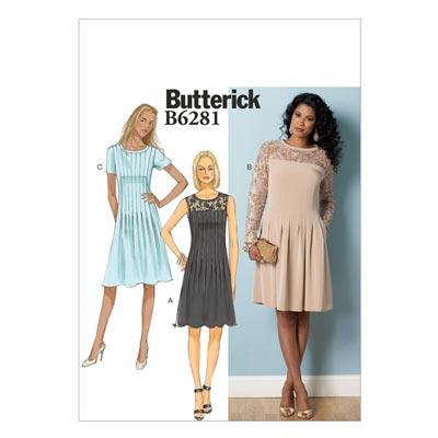 Kleid, Butterick 6281 | 32 - 40