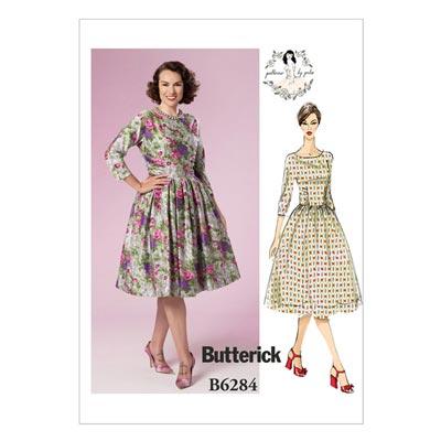 Kleid, Butterick 6284 | 32 - 40