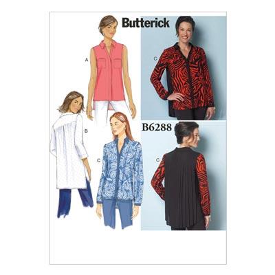 Top / Shirt, Butterick 6288 | 34 - 42