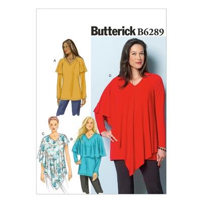 Top / Tunika, Butterick 6289 | 34 - 44