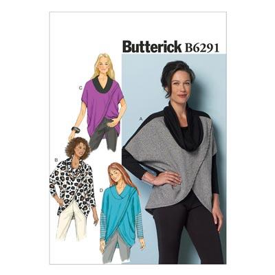 Jacke / Poncho, Butterick 6291 | 32 - 40