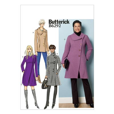 Mantel, Butterick 6292 | 42 - 50
