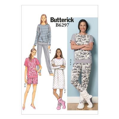 Nachtwäsche, Butterick 6297 | 42 - 50