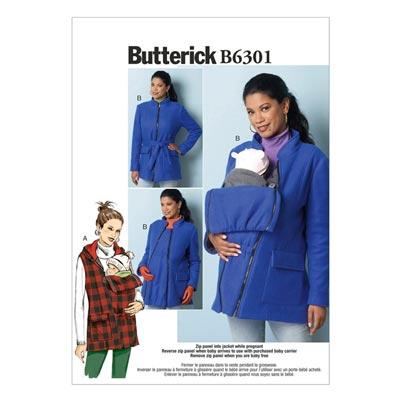Umstandsjacke, Butterick 6301 | 34 - 42