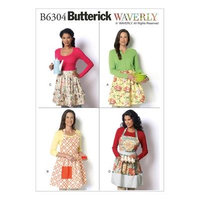 Schürze, Butterick 6304 | One Size