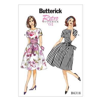 Vintage - Kleid 1961, Butterick 6318 | 40 - 48