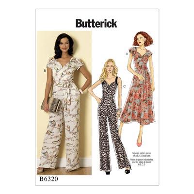 Kleid / Jumpsuit, Butterick 6320 | 32 - 40