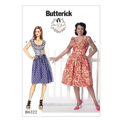 Kleid, Butterick 6322 | 32 - 40
