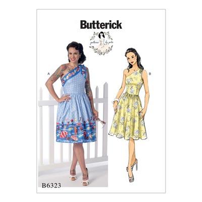 Kleid, Butterick 6323 | 40 - 48