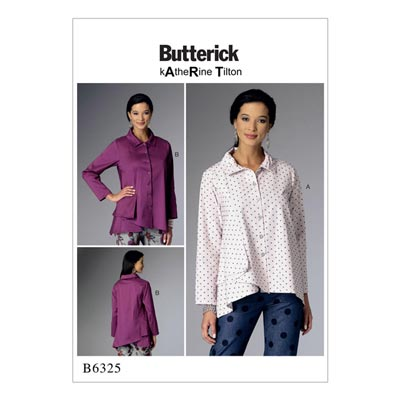 Top / Bluse, Butterick 6325 | 32 - 40