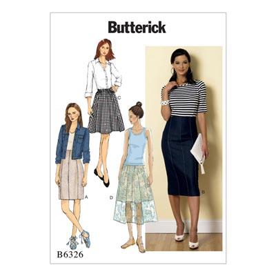 Rock, Butterick 6326 | 34 - 42