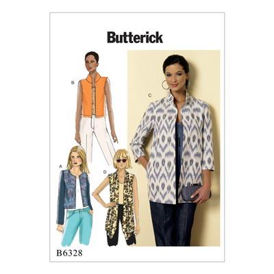 Jacke / Weste, Butterick 6328 | 34 - 42