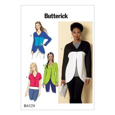 Jacke / Weste, Butterick 6329 | 32 - 40