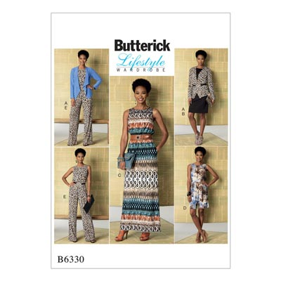 Kleid / Jumpsuit, Butterick 6330 | 32 - 40