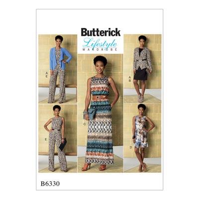 Kleid / Jumpsuit, Butterick 6330 | 42 - 50