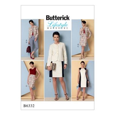 Jacke/Hose/Kleid, Butterick 6332 | 34 - 42