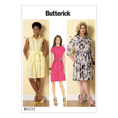 Kleid, Butterick 6333 | 34 - 42