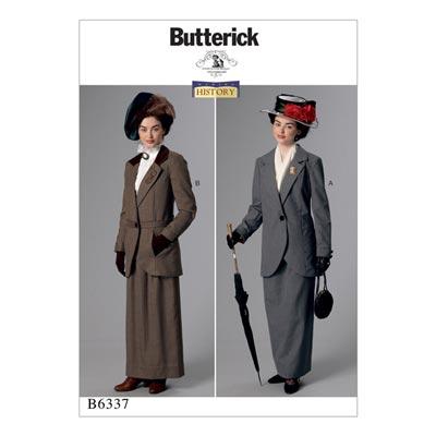 Historisches Kostüm, Butterick 6337 | 40 - 48