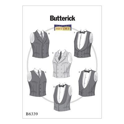 Historisches Kostüm, Butterick 6339 | 44 - 52