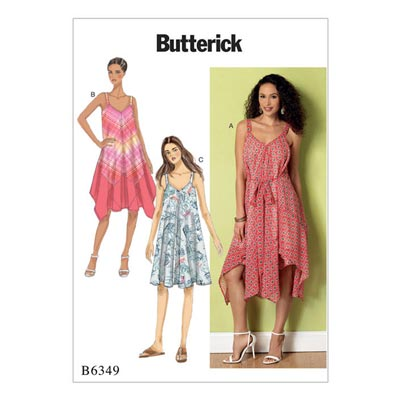 Kleid, Butterick 6349 | 42 - 52