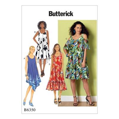 Kleid, Butterick 6350 | 42 - 52