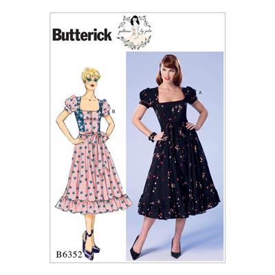 Kleid, Butterick 6352 | 40 - 48