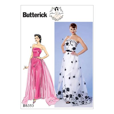 Kleid, Butterick 6353 | 32 - 40