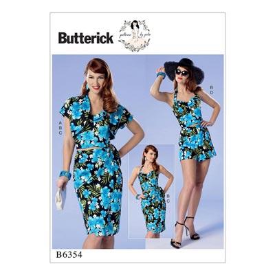 Kleid, Butterick 6354 | 32 - 40