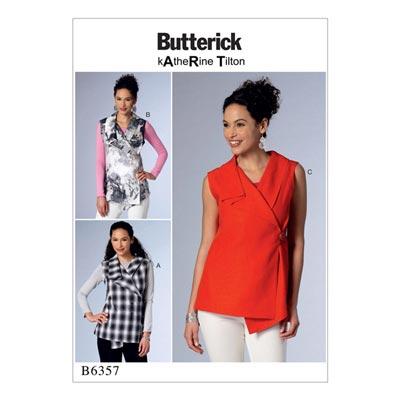Top, Butterick 6357 | 42 - 52