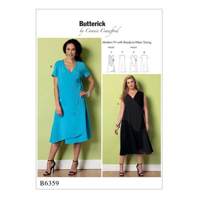 Plus Size  -  Kleid, Butterick 6359 | XXL  -  6XL