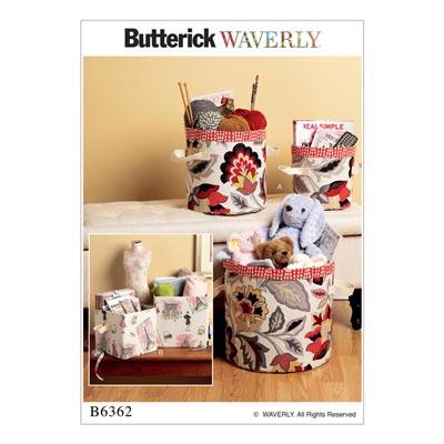 Aufbewahrung, Butterick 6362 | One Size