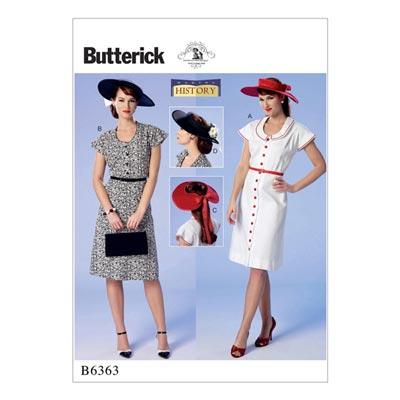 Kleid, Butterick 6363 | 32 - 40