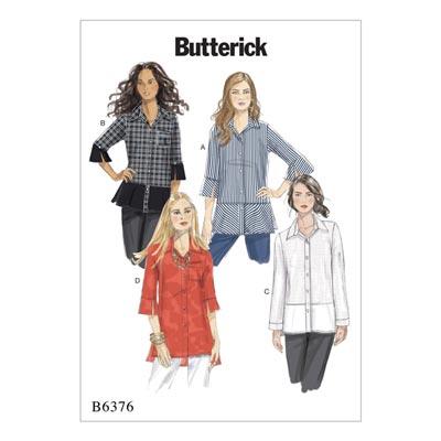 Top/Shirt, Butterick 6376 | 32 - 40