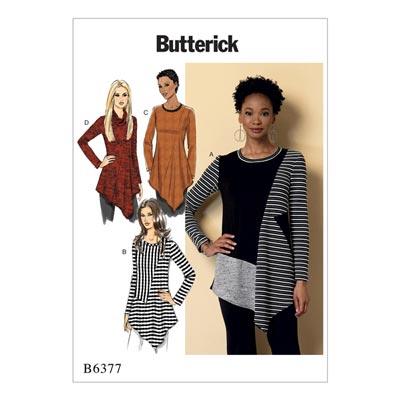 Top/Tunika, Butterick 6377 | 32 - 40