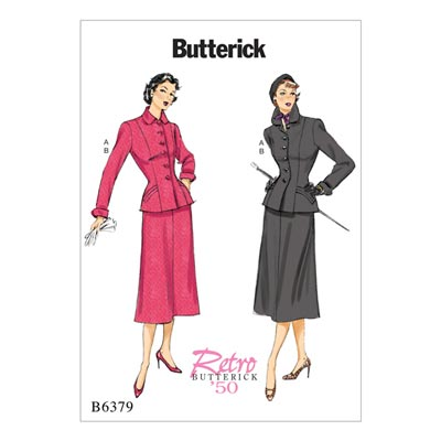 Jacke/Rock, Butterick 6379 | 32 - 40
