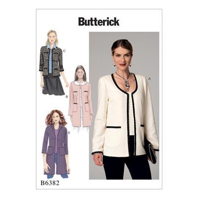 Jacke, Butterick 6382 | 40 - 48