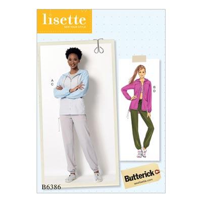 Jacke/Hose/Sport, Butterick 6386 | 40 - 48