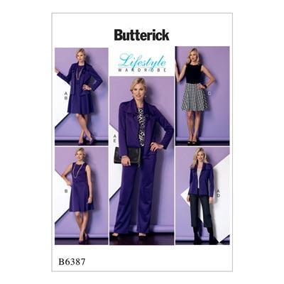 Jacke/Kleid/Hose, Butterick 6387 | 32 - 40
