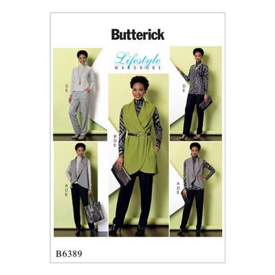 Top/Tunika/Weste/Hose, Butterick 6389 | 30 - 40