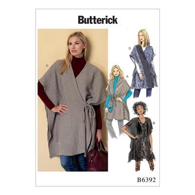 Weste, Butterick 6392 | 30 - 40