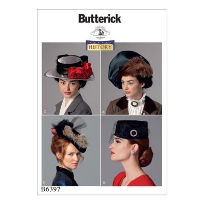 Historischer Hut, Butterick 6397 | One Size