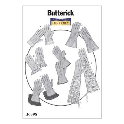 Historische Handschuhe, Butterick 6398 | One Size
