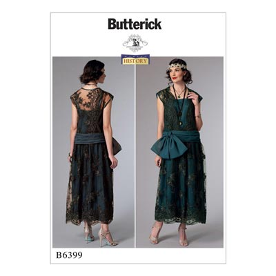 Kostüm, Butterick 6399 | 32 - 40